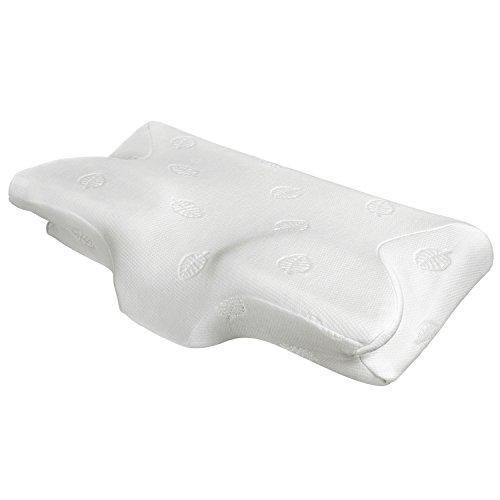 MARNUR orthopädisches Kissen Nackenstützkissen ergonomisches Kopfkissen Memory-Schaum Kissen(Memory Foam) für Seitenschläfer Rückenschläfer und Bauchschläfer +waschbare Kisseneinzug