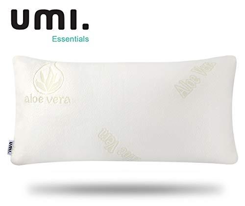 UMI. by Amazon - Memory Foam Kopfkissen Orthopaedische Kissen nackenstützkissen für Magen, Seiten- und Rückenschläfer, 70x35x15cm