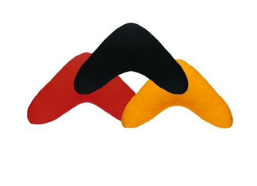 DUKAL, Bezug für Bumerang Kissen / Lesekissen, Farbe: flieder, aus hochwertigem DOPPEL-JERSEY (100% Baumwolle)