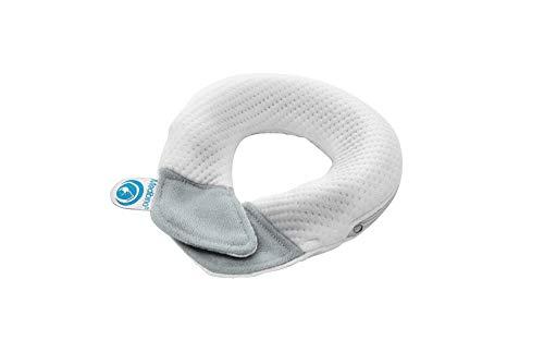 Medibino® | Medizinisch Patentiertes Babykissen gegen Plattkopf, Kopfverformungen und Flachkopf | DAS BESTE FÜR DEIN BABY I Grau