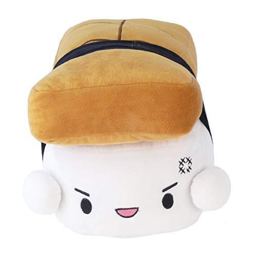 Geekinvader Japanisches Sushi Kissen Kuschelkissen Schmusekissen Dekokissen Smiley Einhornkissen Nemu Neko Katze Kawaii Egg Shrimp in zwei Grš§en (20231-9005-000)