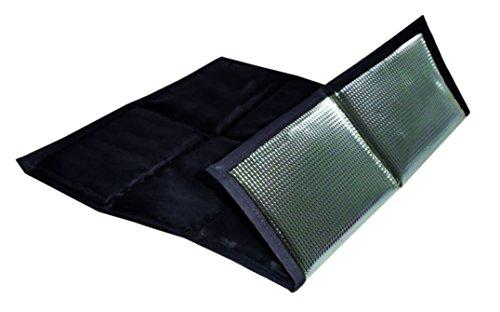 sin4sey 2er Set faltbares Sitzkissen Unterseite isoliert im Zugbeutel (schwarz)