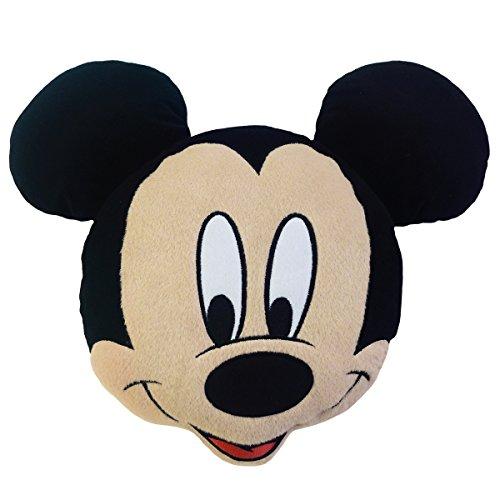Disney Mickey 3D Kissen, Schwarz, 38x32