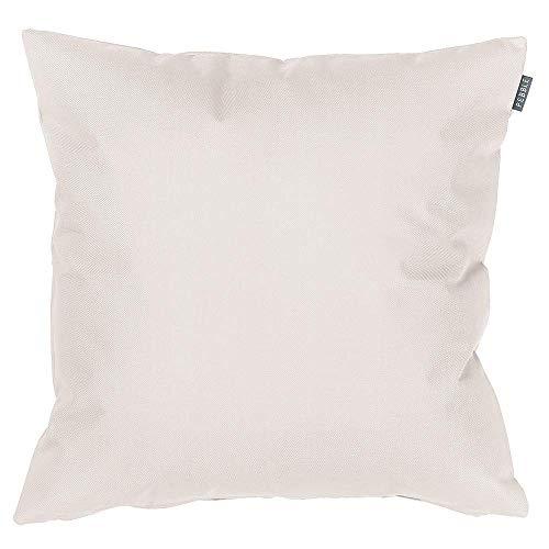 Bean Bag Bazaar Gartenkissen, Beige, 4er-Pack, 43cm, Kissen Wasserabweisend, Textilfaserfüllung–, Dekoratives Zierkissen für Gartenbänke, Stühle oder Sofas