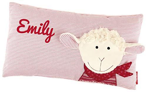 Sigikid 40995 - Babykissen Schaf Schnuggi mit Namen beschriftet