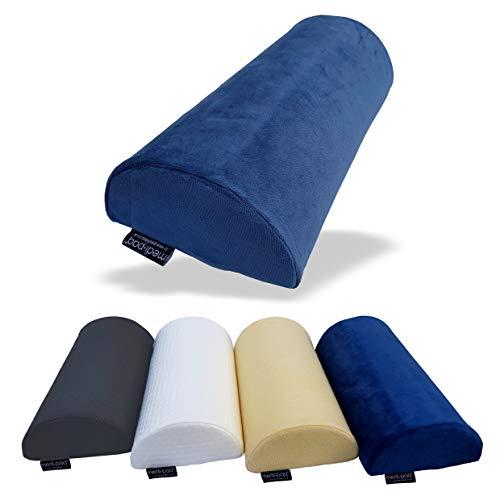 DIY Doctor Medipaq - Halbmond Memory Foam Kissen - Kniekissen für Seitenschläfer, Nacken, unteren Rücken, Knie, Beine, Füße – Ergonomisches Kissen für Jede Position