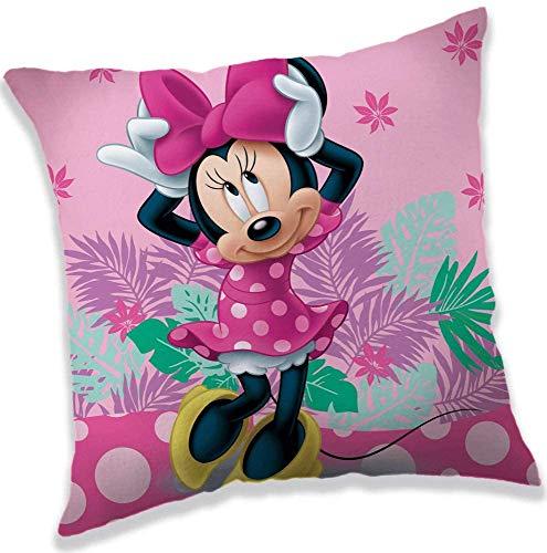 for-collectors-only Minnie Mouse Kissen Disney Plüschkissen Minnie Tropic 40 x 40 cm Kuschelkissen Dekokissen