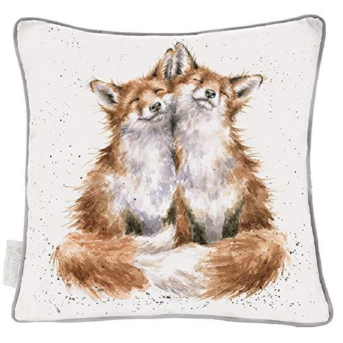 Wrendale Designs The Country Set Kissen mit Federn gefüllt Füchse