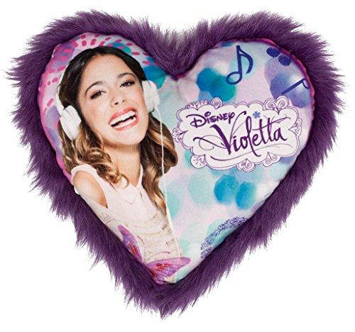 Disney Violetta Kissen 35cm Kinderkissen Kuschelkissen Herzkissen
